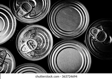 Cans/Hunger Hungry Consumerism