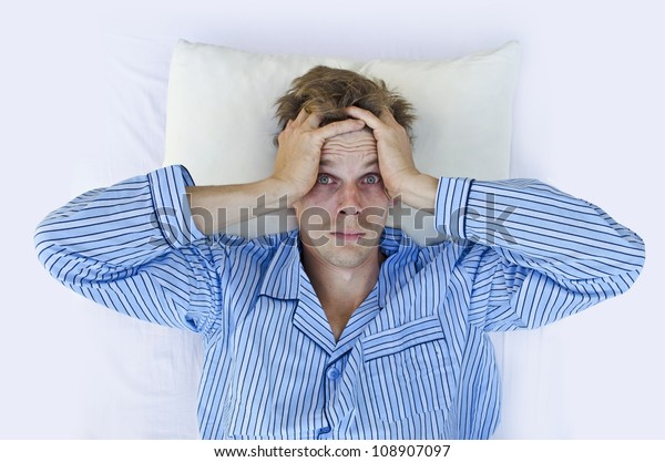 can't sleep from stress