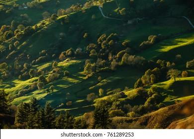 Cantabria Landscape, Miera Valley.