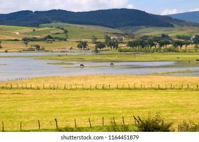 Cantabria, Reinosa Municipality, Ebro rier reservoir