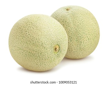 cantaloupe melon path isolated