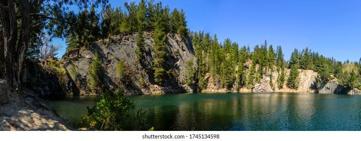 Canteras de Deuco (Deuco quarry) in Araucania Region, southern Chile