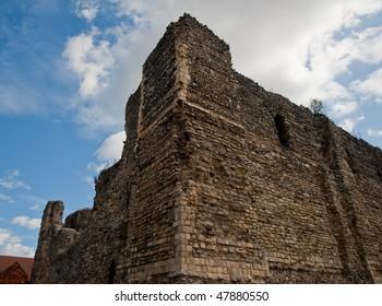 Canterbury Castle in Canterbury England
