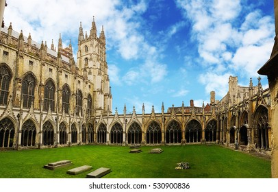 Canterbury Cathedral Cloister, Kent, United Kingdom