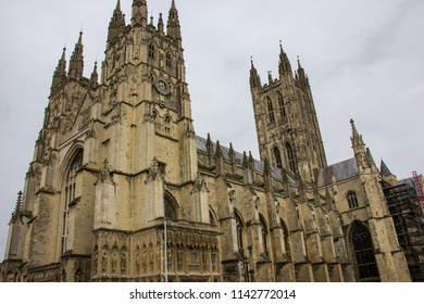 Canterbury Cathedral in Canterbury, England