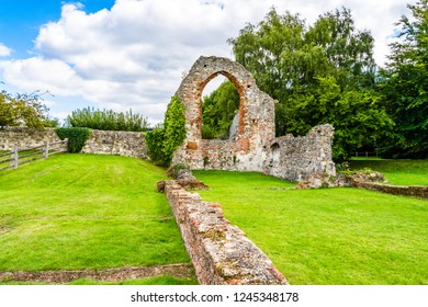 Canterbury, Kent, UK: Ruins of St Pancras church part of St Augustine's Abbey UNESCO World Heritage Site