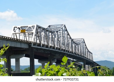 Cantilever Bridge at Tennessee River,  Huntsville, Alabama