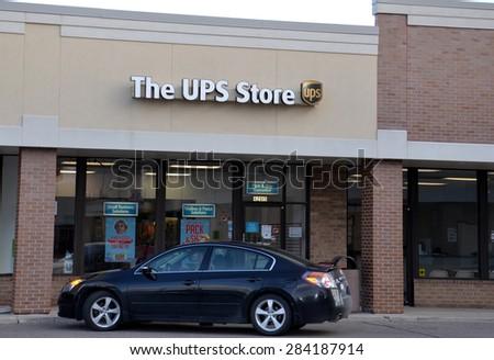 CANTON MI DECEMBER 30 UPS Store Stock Photo (Edit Now