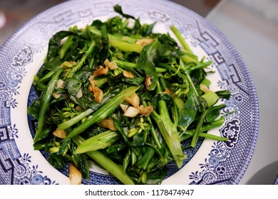Cantonese Home Cooking: Stir-Fried Greens