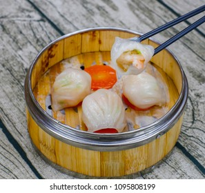 Cantonese Shrimp Dumplings King Crystal Package Cantonese Cuisine Morning Tea