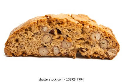 Cantuccini isolated on white background