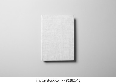 Canvas Cover Book Mock-up, ready to replace your design.