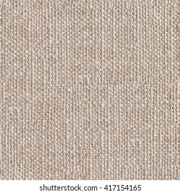 Canvas fabric as background. Seamless square texture. Tile ready.
