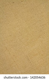 Canvas of flax canvas with natural light brown color