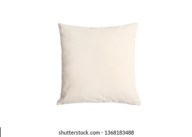 Canvas Square Throw Pillow