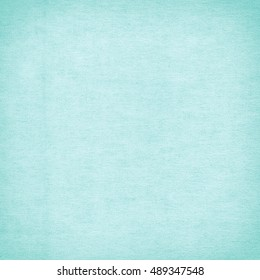 Canvas surface Turquoise texture background