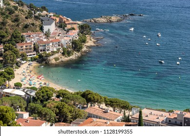 Canyelles Petities in Roses on the Costa Brava in Catalunia Spain