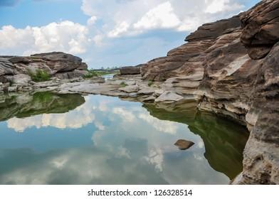 Canyon of 3000-Boke, Thailand
