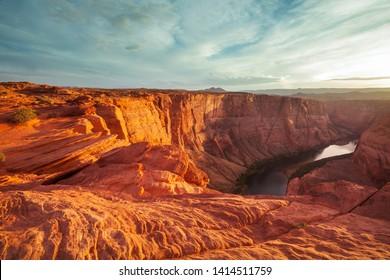 Canyon of the Colorado river