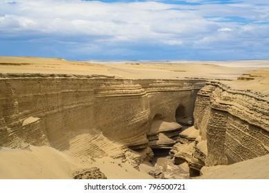Canyon Los Perdidos. Ica, Peru.