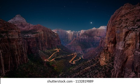 Canyon Overlook, Zion National Park, Utah, USA