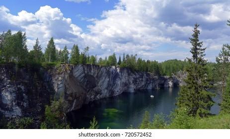 canyon Ruskeala