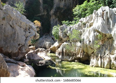 Canyon Torrent de Pareis, Mallorca, Spain