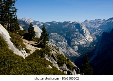 Canyon view in Yosemite National Park