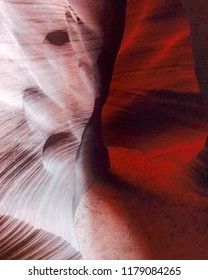 Canyon X Slot Canyon in Page, Arizona USA