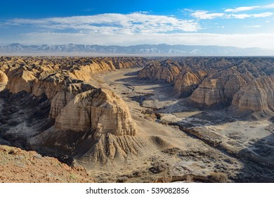 Canyon Zhabyr (Yellow Canyon), East Kazakhstan