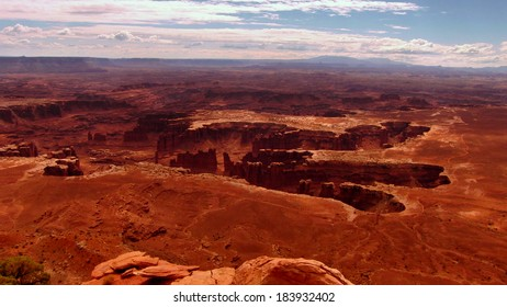 Canyonlands National Park Grand View Point Utah USA
