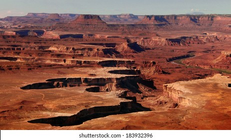 Canyonlands National Park Green River overlook Utah USA