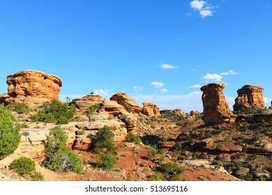 canyonlands national park, needles district, utah, united states