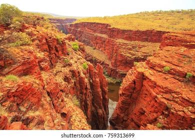 Canyons in Australia - Karijini National Park