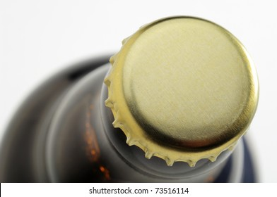 cap of beer bottle