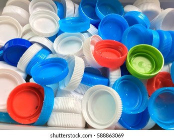 cap of bottles for recycling