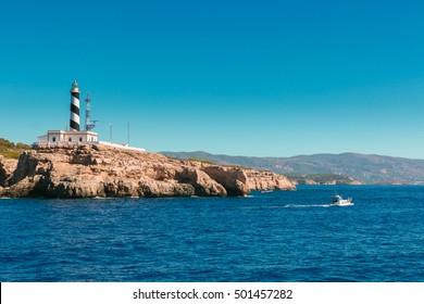 Cap Cala Figuera in Palma of Majorca, Spain