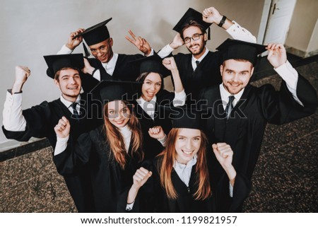 bd4f842d101 Cap Campus Happiness Knowledge Best Friends Stock Photo (Edit Now ...
