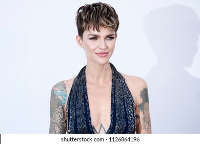 CAP D'ANTIBES, FRANCE - MAY 17:  Ruby Rose