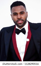 CAP D'ANTIBES, FRANCE - MAY 17: Jason Derulo arrives at the amfAR Gala Cannes 2018 at Hotel du Cap-Eden-Roc on May 17, 2018 in Cap d'Antibes, France.