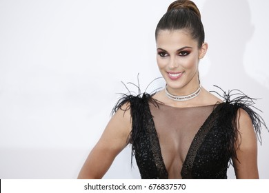 CAP D'ANTIBES, FRANCE - MAY 26:  Iris Mittenaere attends the Amfar Gala Cannes 2017 at Hotel du Cap-Eden-Roc in Cap d'Antibes, France on May 26, 2017.