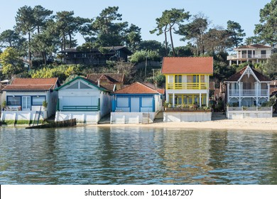 Cap Ferret (Arcachon Bay, France), the oyster village of L'Herbe, a conservation area