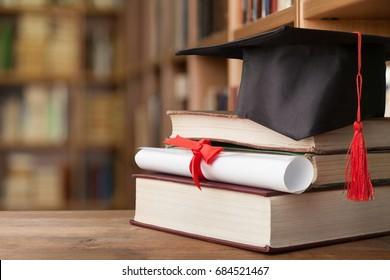 Cap graduation.