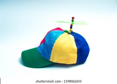 329f839d7da Cap hat kid fun copter helicopter propeller color full propeller