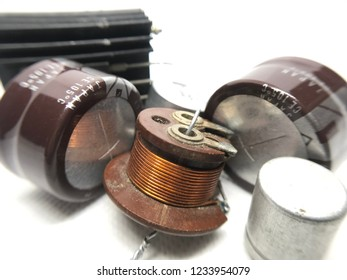 capacitor electronic components parts