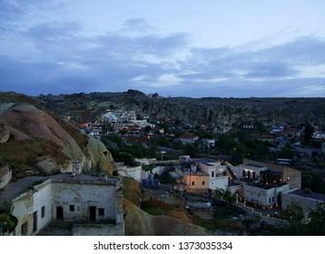 Capadocia landscape with houses