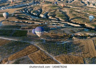 Capadocia, Turkey, August, 2018, Baloon ride in Capadocia 1