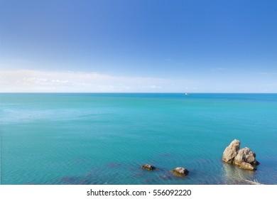 Cape Alchak / city Sudak Crimea travel bright summer photo