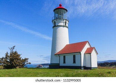 Cape Blanco Lighthouse in Cape Blanco State Park, Oregon.
