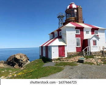 Cape Bonavista lighthouse in Bonavista, Newfoundland, Canada.